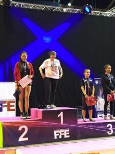 Olivia médaillée d'argent à la Fête des Jeunes