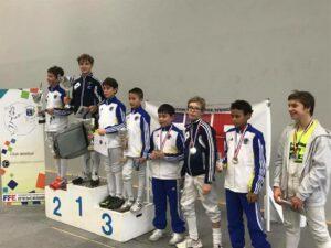 Victoire d'Antonin et 6ème place pour Kirill