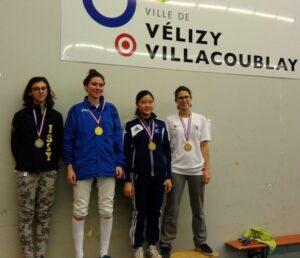 Phoënixia médaillée de bronze aux championnats de Ligue