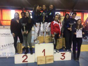 Les filles remportent la première édition de la Coupe de France