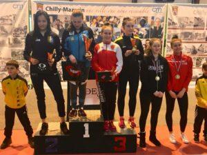 3ème podium pour Olivia en 3 circuits Elite !!!