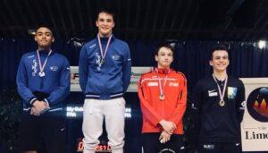 Aymeric remporte la médaille de bronze