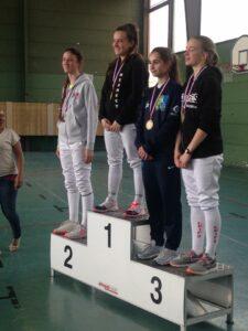 Médaille de bronze pour Ilona