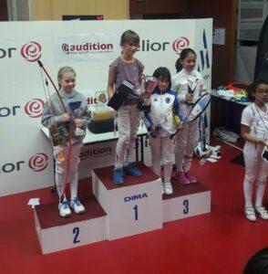 Camille remporte la compétition en M9