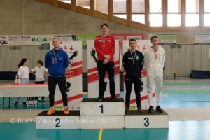 Aymeric remporte la médaille de bronze en N2
