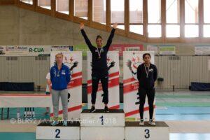 Ysaora championne de France N1 pour la 6ème fois de suite