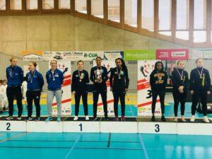 Les filles championnes de France pour la 6ème année consécutive