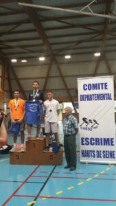 Simon champion des Hauts-de-Seine 2018