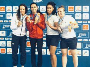 Victoire d'Ines aux Jeux Méditerranéens