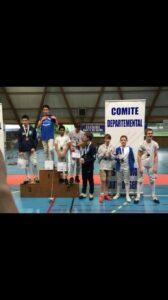 Arthur vice-champion des Hauts-de-Seine !!!