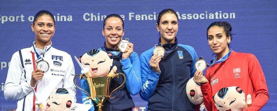 Incroyable triplé de nos filles aux championnats du monde