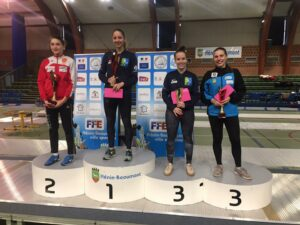 Alice remporte le circuit national d'Hénin-Beaumont, Emma décroche le bronze