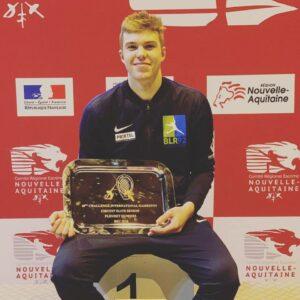 Rafael remporte son premier circuit national Senior
