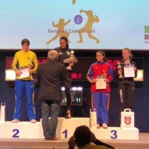 Olivia remporte le circuit européen de Tauberbischofsheim