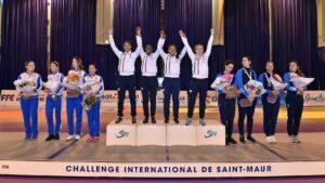Troisième victoire consécutive de la saison en Coupe du monde pour Ysaora, Chloé et leurs co-équipières de l'équipe de France