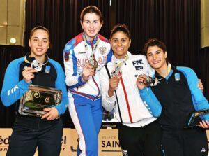 Médaille d'argent et de bronze pour Alice et Ysaora au circuit de Coupe du monde à Saint-Maur