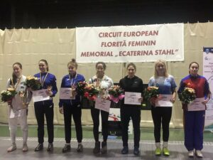 Belle 3ème place de Lisa au Circuit Européen de Satu Mare