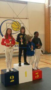 Camille a remporté le tournoi 2019 des templiers