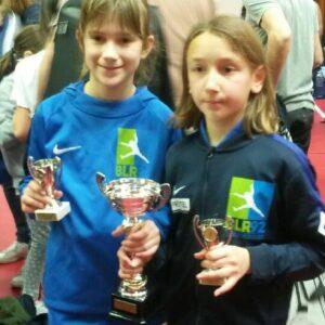 Camille et Cloélia décrochent la médaille d'argent
