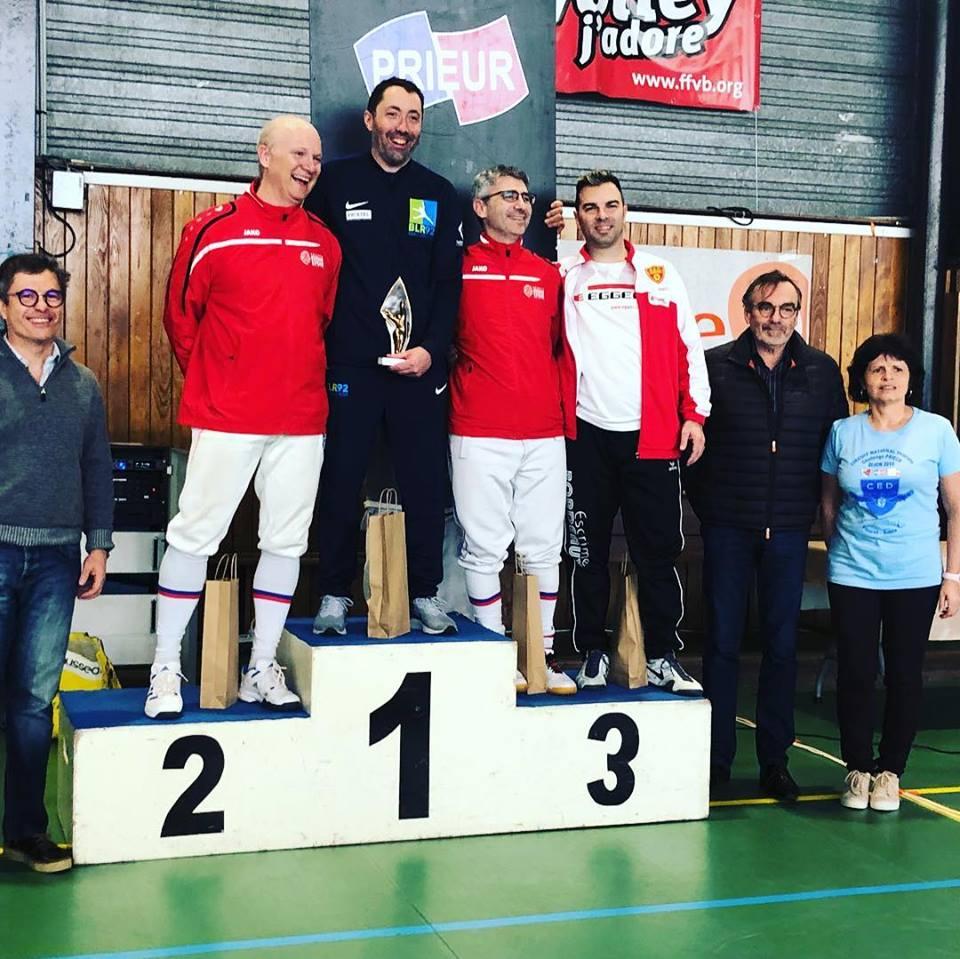 Cyril remporte le circuit national de Dijon