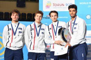 Rafael médaillé d'argent avec l'équipe de France