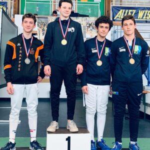 Raphaël et Arthur en bronze aux championnats de Ligue
