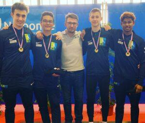 Les garçons remportent le titre de champion de France 2019 en N2