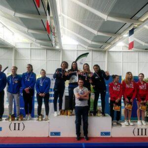 Les filles championnes de France pour la 7ème année consécutive