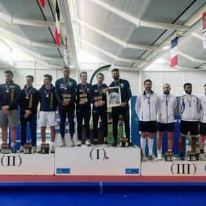 Les garçons remportent le titre de champion de France en N2