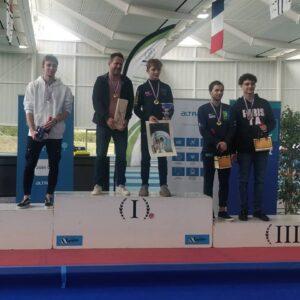 Simon remporte la médaille de bronze en N2