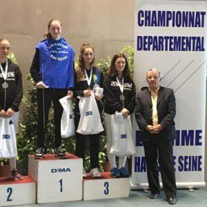 Ilona remporte la médaille de bronze