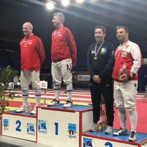 Cyril médaillé de bronze en individuel