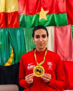 Inès championne d'Afrique pour la 13ème fois de suite