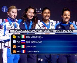 Ysaora et Alice remportent la médaille de bronze