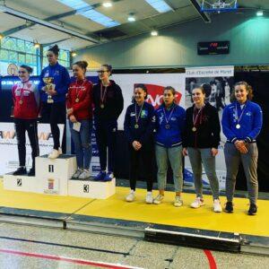 Mathilde se classe 5ème au circuit Elite du Muret