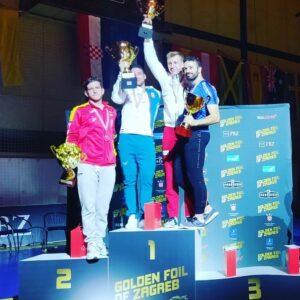 Momo 3ème au tournoi satellite de Zagreb