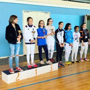 Cloélia signe son premier podium en M13
