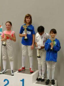 Camille remporte le challenge, médaille de bronze pour Emily