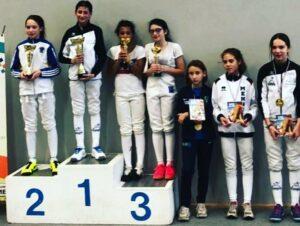 Cloélia se classe 5ème à Saint-Germain