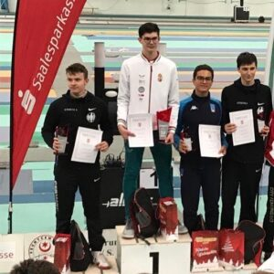 Alexander prend la 3ème place au circuit européen de Halle M17