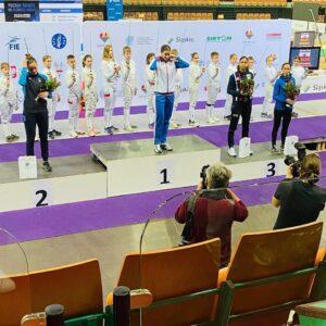 Médaille de bronze pour Ysaora à l'épreuve de Coupe du monde à Katowice
