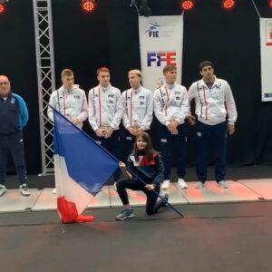 Médaille de bronze pour Rafael et ses coéquipiers de l'équipe de France