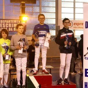 Nathan remporte la finale du circuit M13 départemental