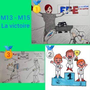 Dessins M13-M15