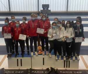 Les filles en bronze aux championnats de France U20