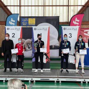 Mathilde et Alice en bronze aux championnats de France U23