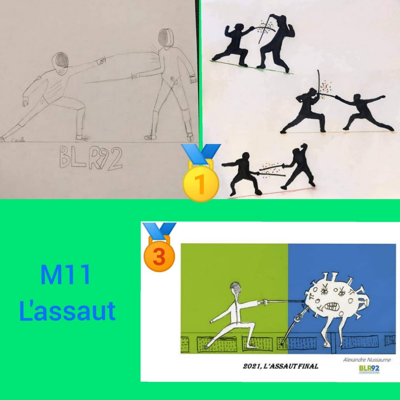 Dessins M11